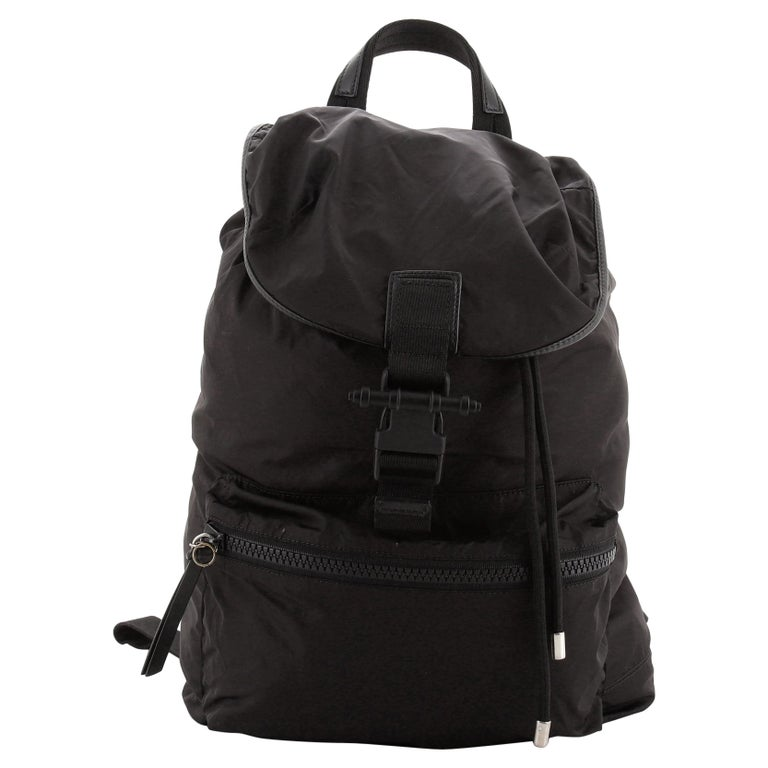 Givenchy Obsidia Buckle Backpack Nylon For Sale