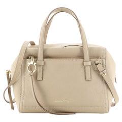 Salvatore Ferragamo Amy Boston Bag Leather Medium Leather Medium