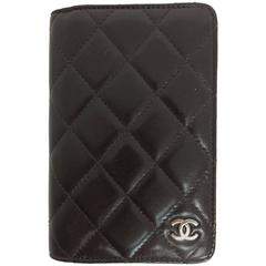 Chanel quilted leather datebook 2009 unused