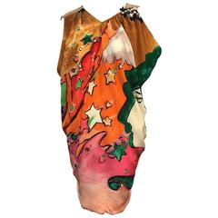 Tsumori Chisato Hand-Painted Sequined Tunic