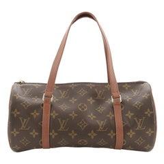 Louis Vuitton Papillon Handbag Monogram Canvas 30