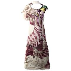 Iconic  2008 Prada fairy silk dress