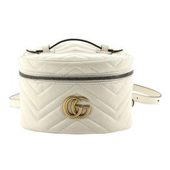 Gucci GG Marmont Vanity Backpack Matelasse Leather