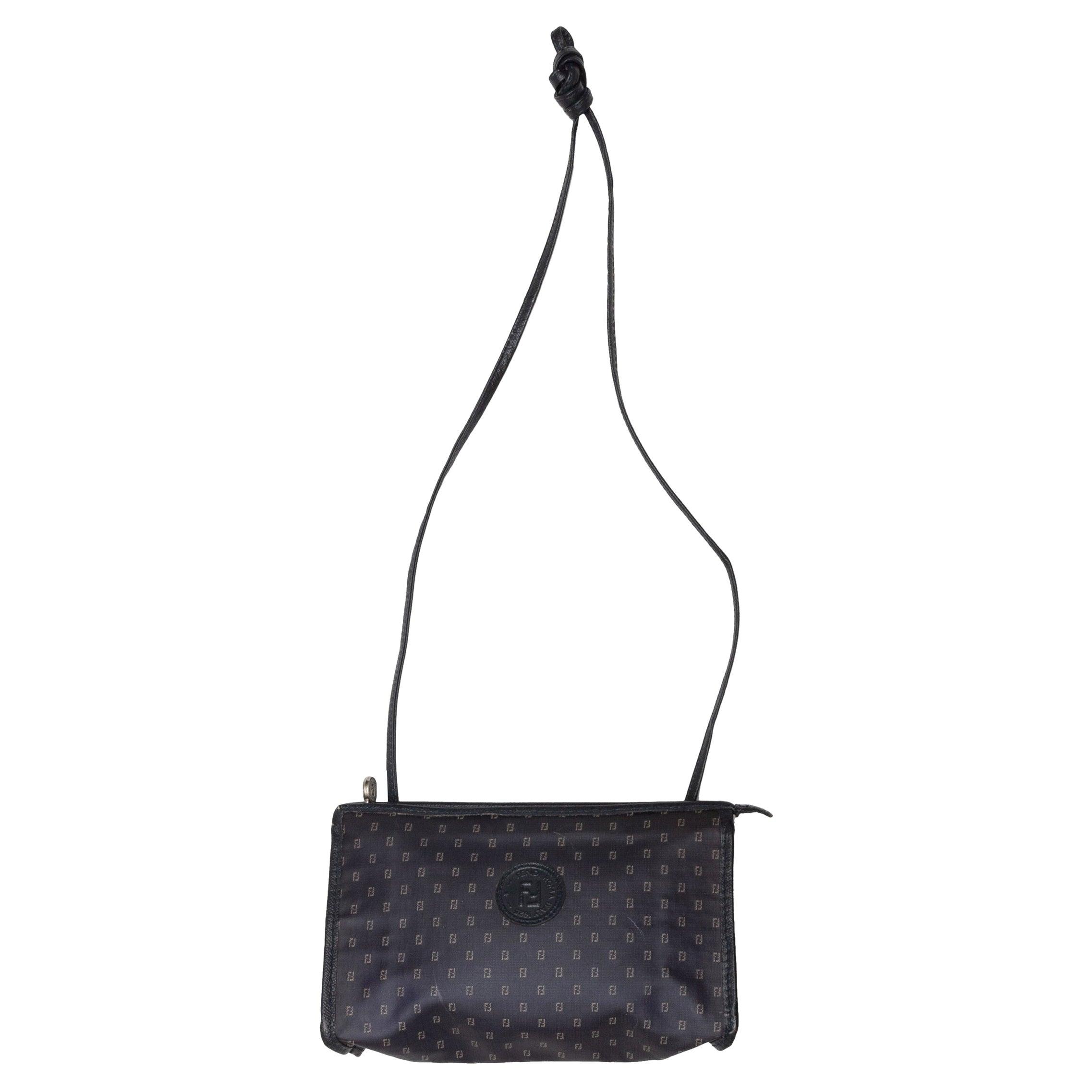 Fendi Navy Crossbody Bag