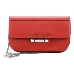Prada Sybille Crossbody Bag Spazzolato Leather Mini