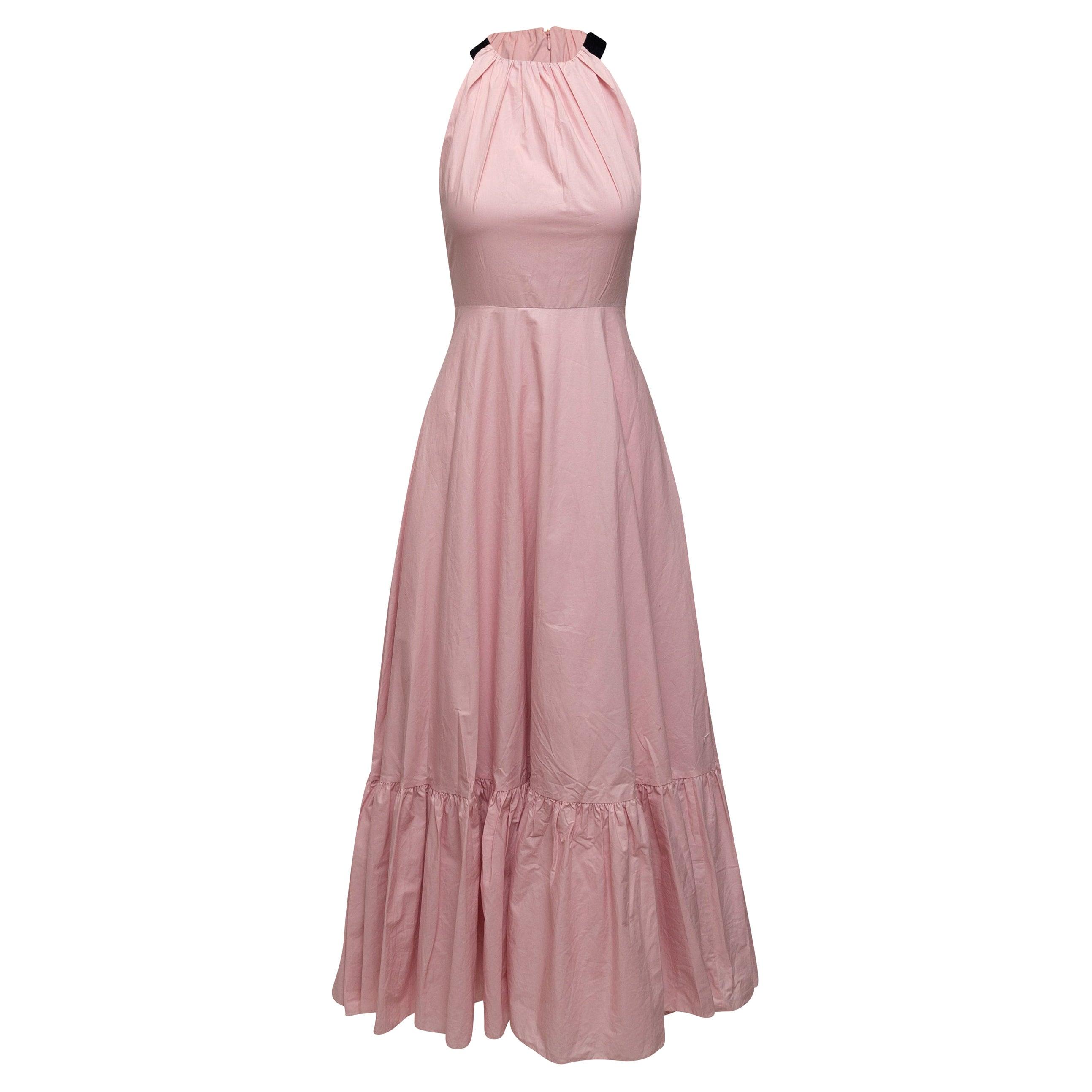 Roksanda Pink Sleeveless Maxi Dress