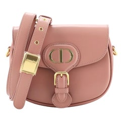 Christian Dior Bobby Flap Bag Leather Small