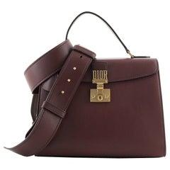 Christian Dior Dioraddict Top Handle Bag Leather Medium