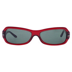 Persol Ratti Meflecto Red Acetate Sunglasses 2807-S 56/15 135 mm