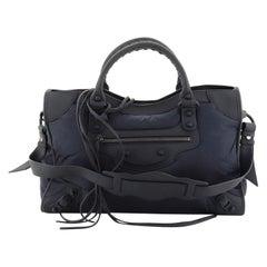 Balenciaga City Classic Studs Bag Nylon Medium