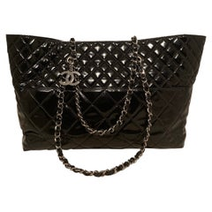Chanel Black Patent In the Business Tote