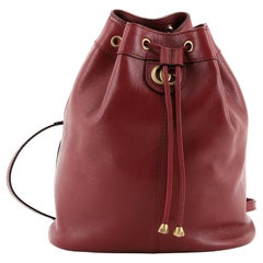 Gucci RE(BELLE) Bucket Backpack Leather