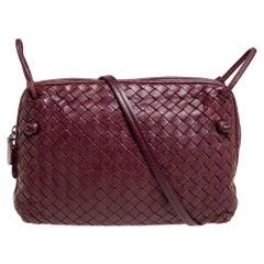 Bottega Veneta Intrecciato Leather Nodini Crossbody Bag