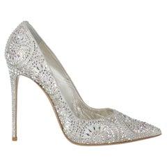 Le Silla  Women   Pumps  Silver Leather EU 40