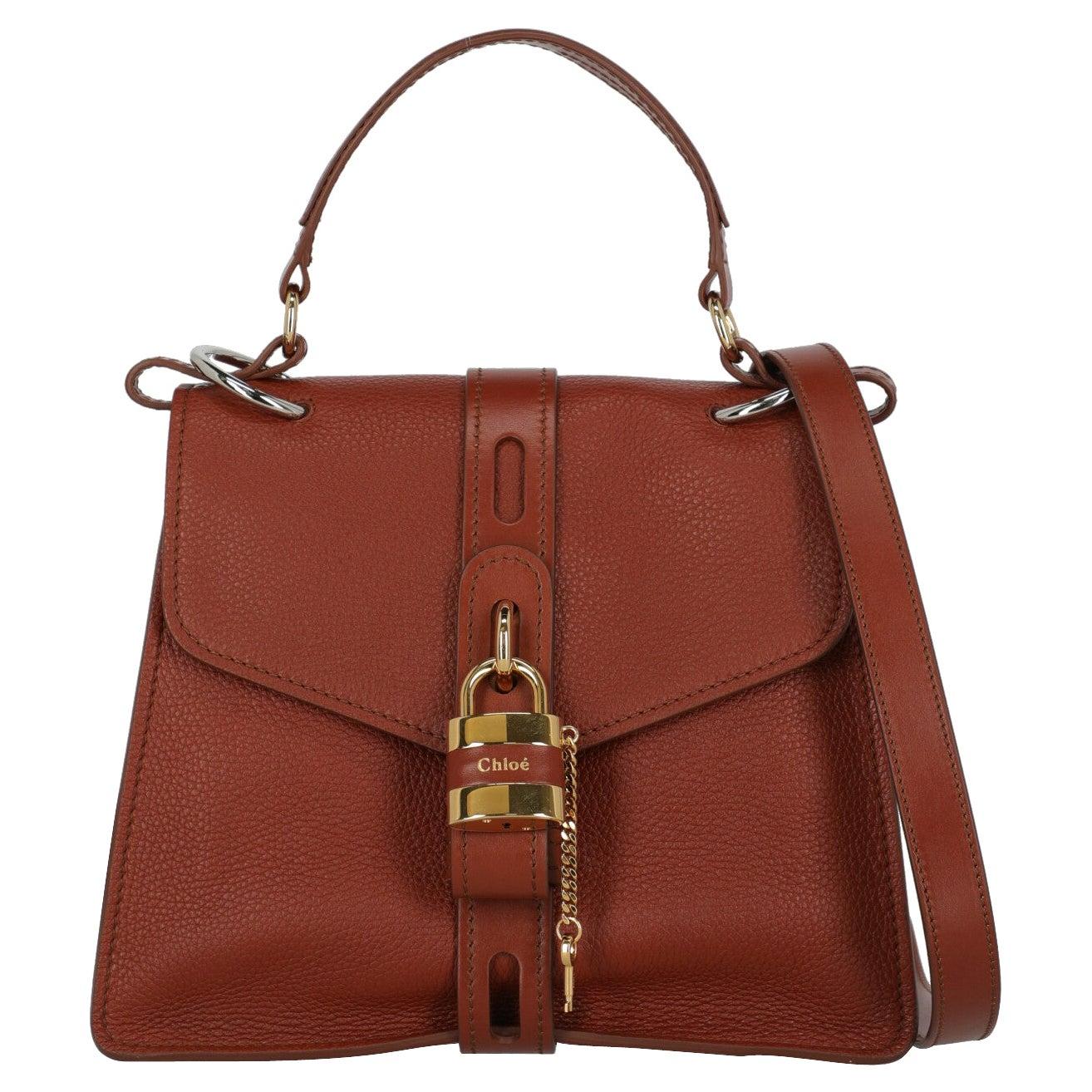 Chloé  Women   Shoulder bags   Brown Leather