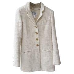 Chanel Bombay Ivory Blazer Jacket