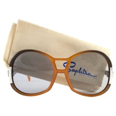 New Vintage Saphira 4003 Oversized Germany 1980 Sunglasses