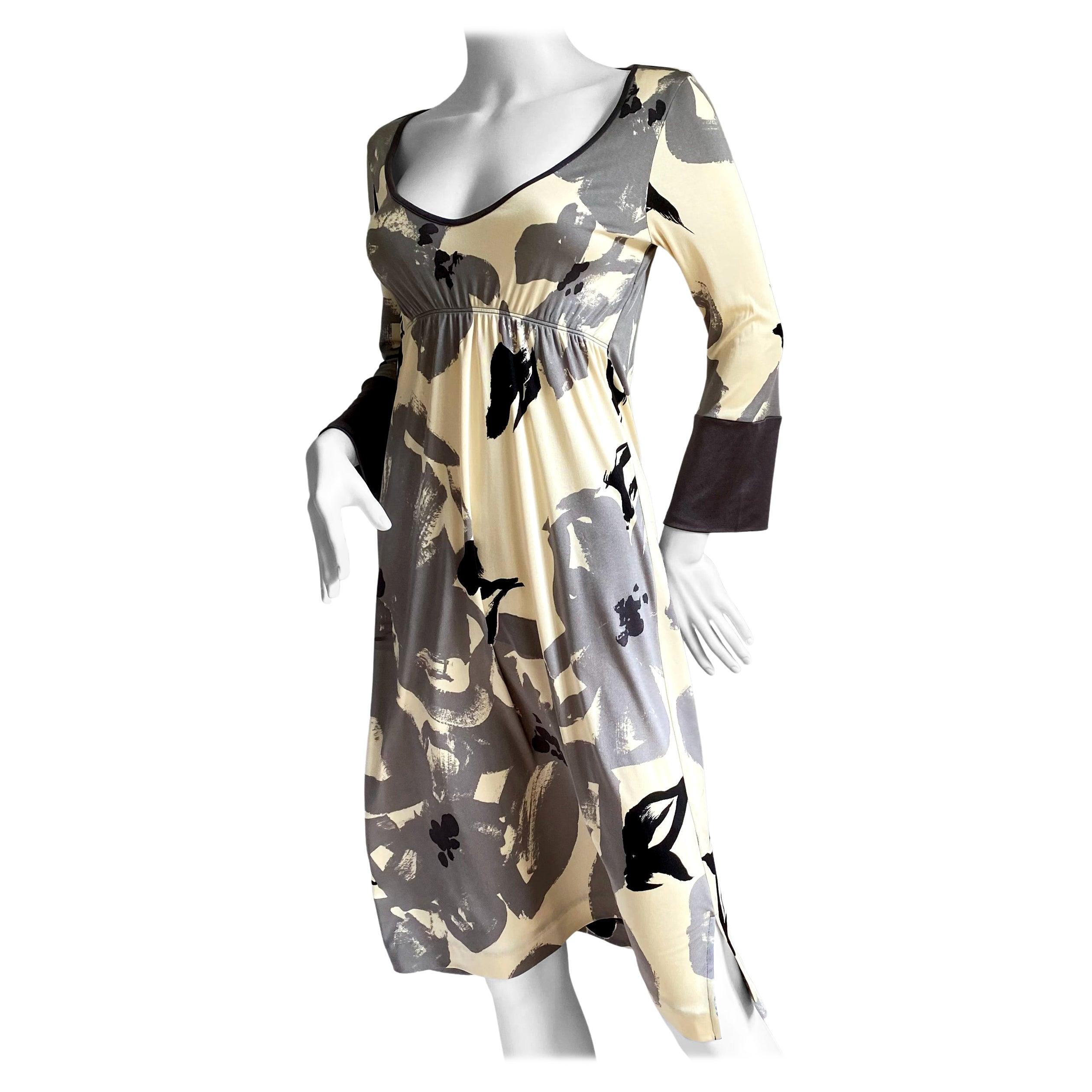 Neutral Floral NWT ethereal silk kimono dress - FLORA KUNG