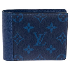 Louis Vuitton Pacific Canvas and Taiga Leather Multiple Wallet