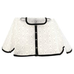 Chanel Camellia Handbag Raincoat Printed PVC