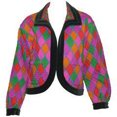 Vintage Yves Saint Laurent YSL Reversable Jacket