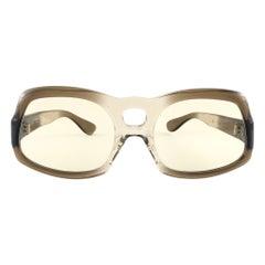 "New Vintage JOURDAN Paris "" Fiu Fiu "" Frame Changeable Lenses 1970 Sunglasses"