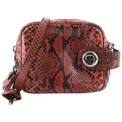 Prada Lucido Camera Bag Python Small
