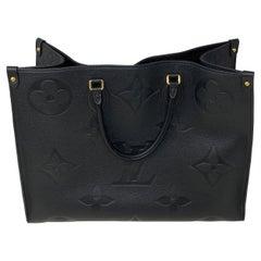Louis Vuitton Black On The Go Bag