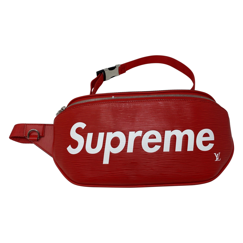 Louis Vuitton Red Supreme Bum Bag