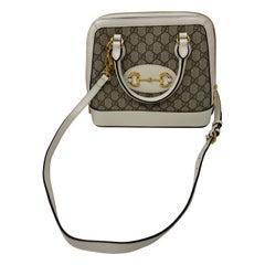 Gucci Cream Monogram Bag