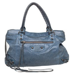 Balenciaga Tempete Leather RH Purse Bag