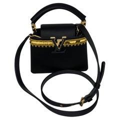 Lous Vuitton Capucin Mini Satin Black Bag