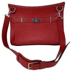Hermes Red Jypsiere Bag