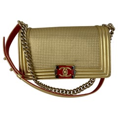 Chanel Gold Limited Edition Boy Bag