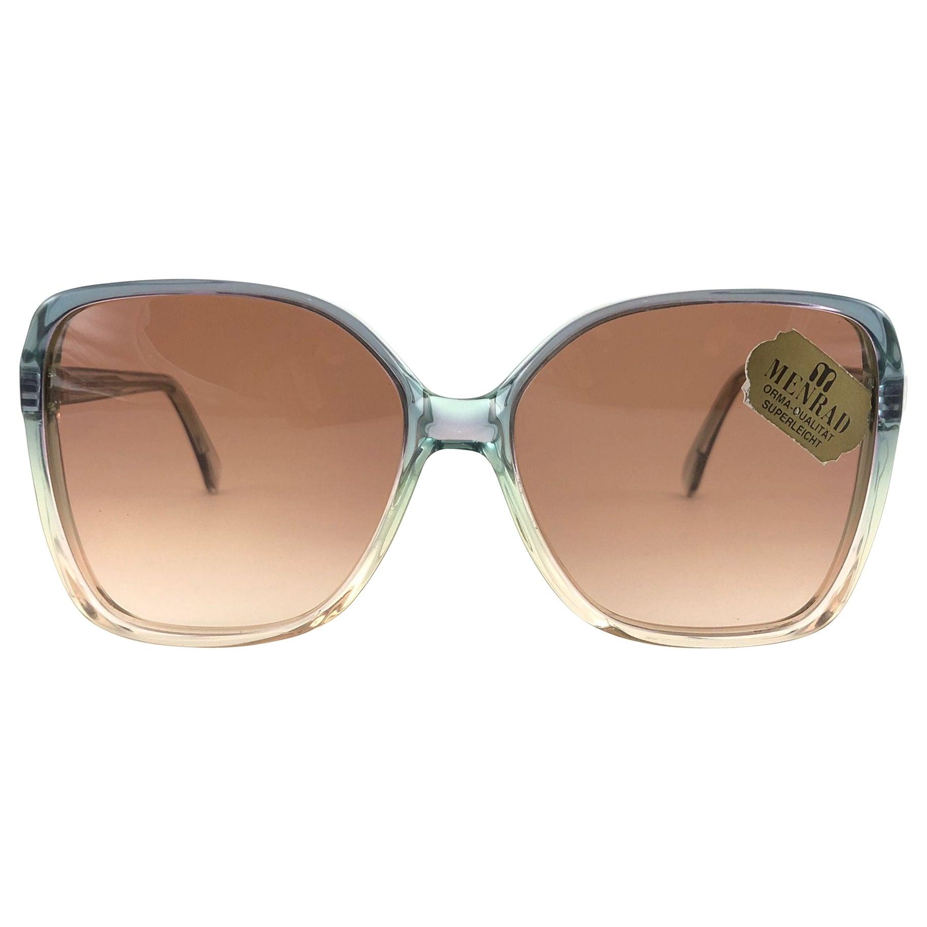 Vintage Rare Menrad M742 Funky Oversized  1970 Sunglasses