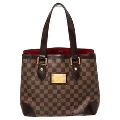Louis Vuitton Damier Ebene Hampstead PM Bag