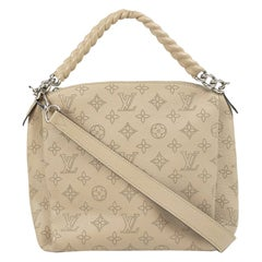 Bag in beige leather