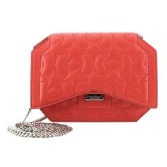Givenchy Bow Cut Chain Wallet Quilted Leather