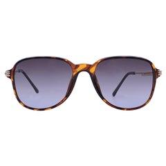 Christian Dior Vintage Brown Acetate Sunglasses 2522 54-18 130 mm