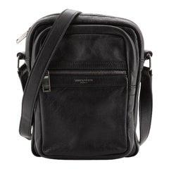 Saint Laurent Flight Bag Leather