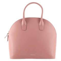 Mansur Gavriel Top Handle Bag Leather. Large