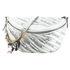 Balenciaga Souvenir Belt Bag Quilted Leather XS