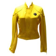 Yellow Vintage Jean Paul Gaultier Sport Jacket