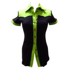 Jean Paul Gaultier Polyamide Short-Sleeved Top