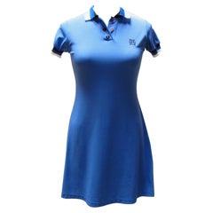 Jean Paul Gaultier Blue Polo Dress
