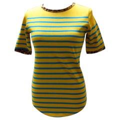 Jean Paul Gaultier Yellow Striped Tee