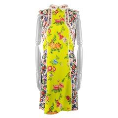 Mary Katranzou Floral Patterned Skater Dress