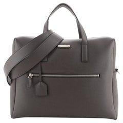 Saint Laurent Bold Briefcase Leather