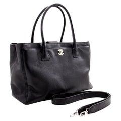 CHANEL Executive Tote 2Way Caviar Shoulder Bag Handbag Black 2014