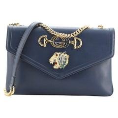 Gucci Rajah Chain Shoulder Bag Leather Medium